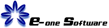 E-one software logo